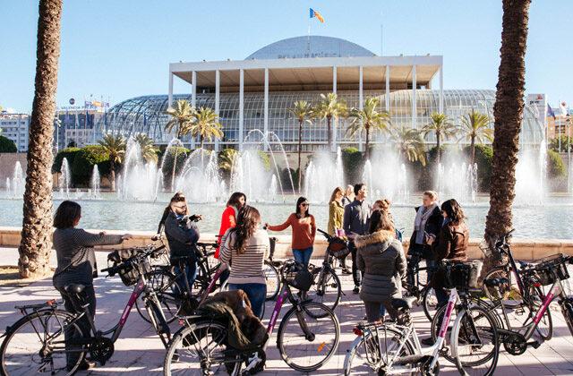 Actividad en bicicleta_Valencia