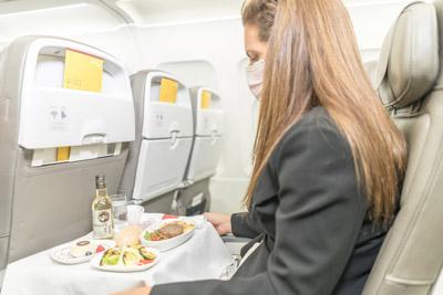 Iberia servicio a bordo