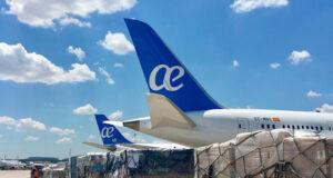 Air Europa transporte vacunas
