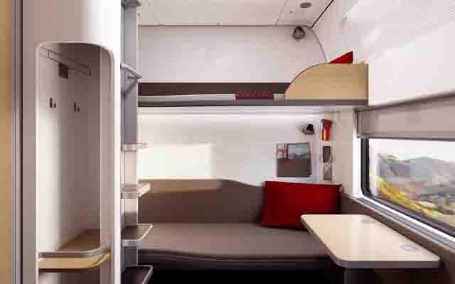 nightjet viajar en tren nocturno por Europa