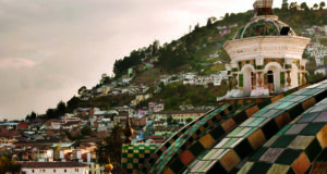 Cúpula de la catedral de Quito