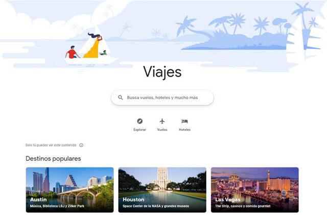enlaces gratuitos hoteles agencias de viaje google viajes