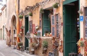 Tiendas típicas de pueblo de Mallorca