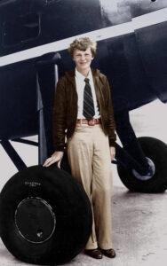 Mujeres Viajeras_Amelia Earhart